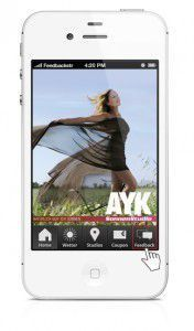 Start Screen AYK App
