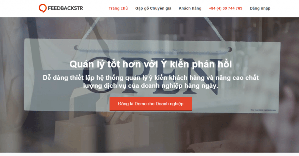 Feedbackstr_Vietnamese_Website
